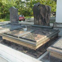 Dupla sírkő 10