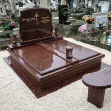 Dupla sírkő 21