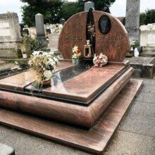 Dupla sírkő 31