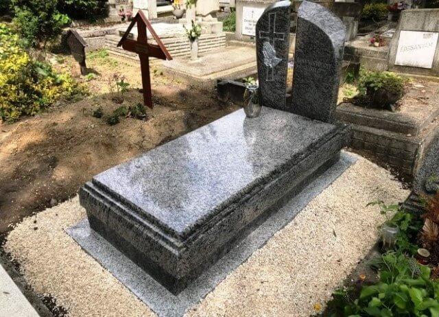 Szimpla sírkő 100